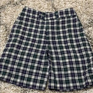 Polo by Ralph Lauren  boys madras shorts size 5